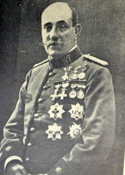 Spanish colonel Benito Marquez Martin
