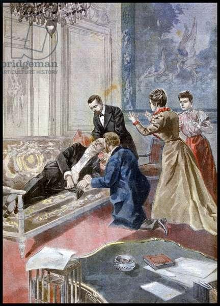 Investiture of legion of Honour upon President Emile Francois Loubet, 1899