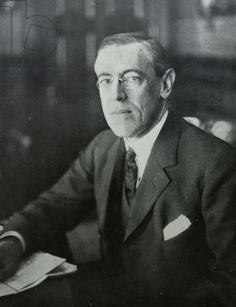 Thomas Woodrow Wilson, 1918