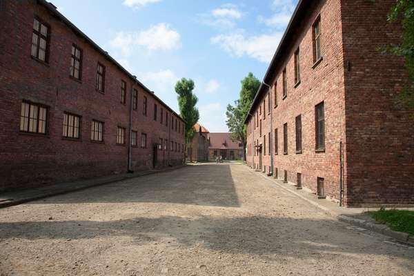 Barracks For Prisoners, Auschwitz Concentration Camp, Oswiecim, Malopolska, Poland (photo)