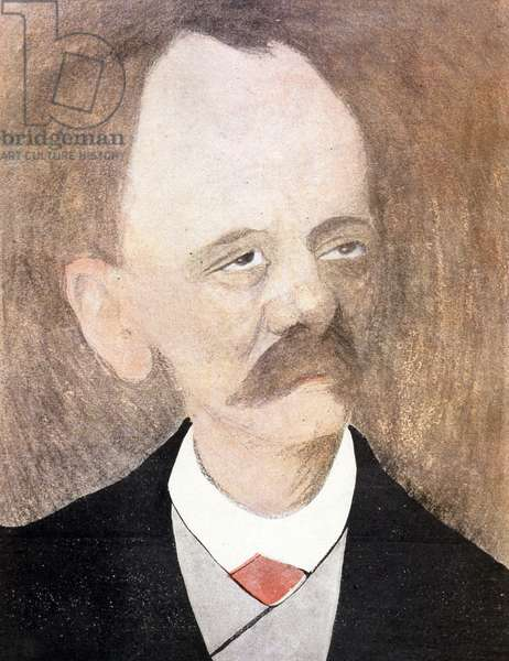 Caricature of Jules Massenet, French composer