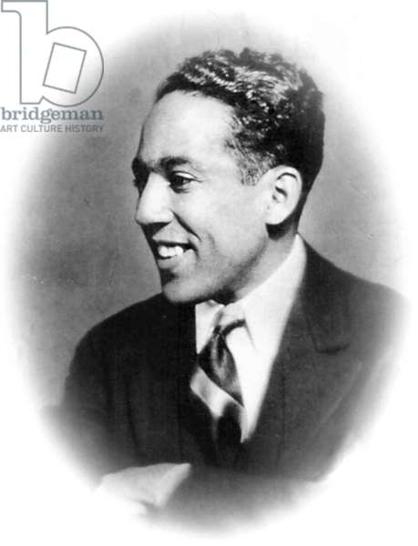 (James Mercer) Langston Hughes (1902-1967) African American/Caucasian poet, playwright writer and columnist.