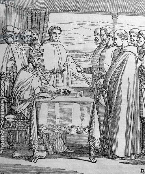 Magna Carta (Great Charter) agreed by King John of England
