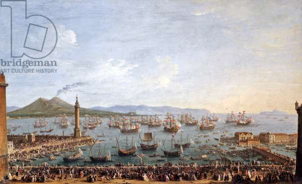 Departure of Charles III King of Spain and Naples from Naples 1759.