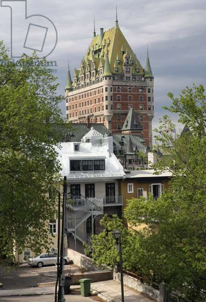 Canada, Quebec, Montreal, Chateau Frontenac, hotel