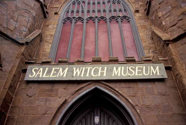 Massachusetts, Salem. Salem Witch Museum Exterior