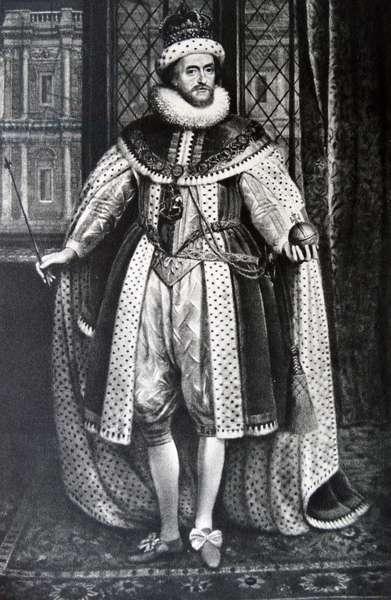 Portrait of King James I