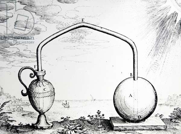 Expansion of Air by Heat (engraving)