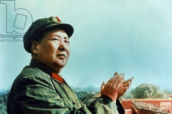 Mao Zedong, at the height of the cultural revolution, 1966