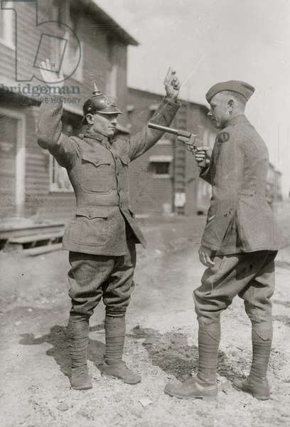 Captured German Soldier (photo)