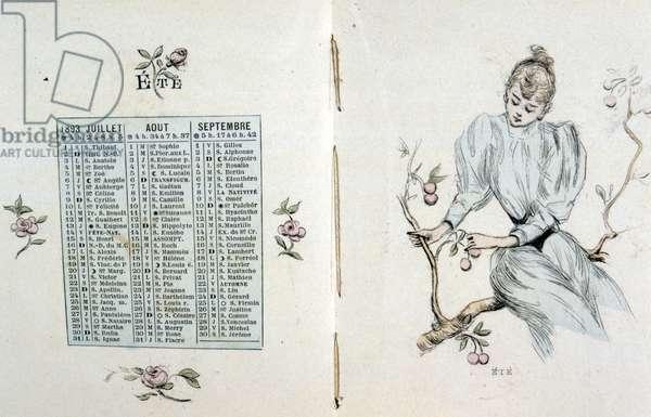 An Almanack of poems