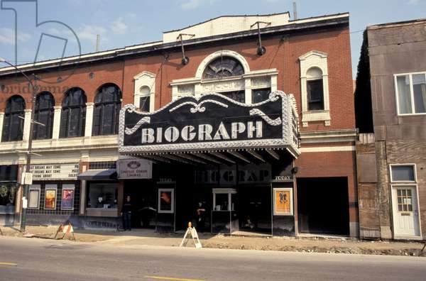 Illinois, Chicago. Biograph Movie Theater.