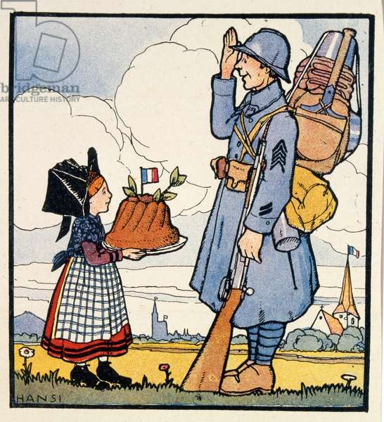 The return of Alsace region to France