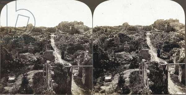 Crusader Ruins, 1909