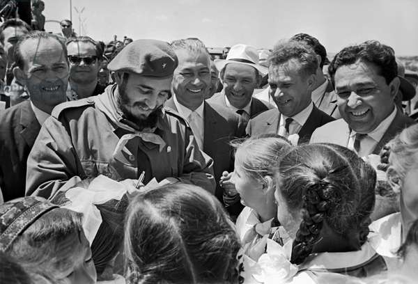 Fidel Castro On His Visit To Uzbekistan