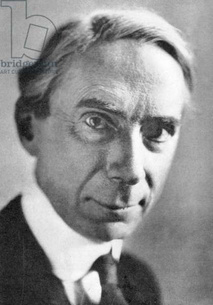Bertrand Arthur William Russell, 3rd Earl Russell (1872-1970). British philosopher and mathematician. Nobel prize for literature 1950.