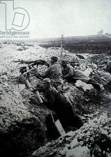 French artillery gunners, 1915