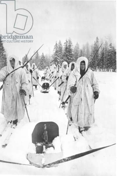 Red Army Winter Fighting During World War Ll.