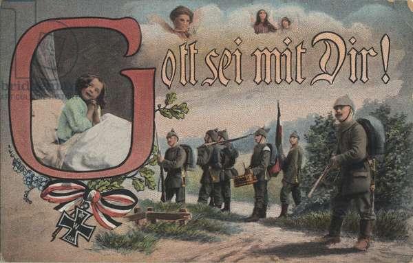 German World War I postcard