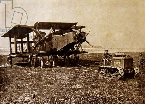 The Handley Page Type O, 1917