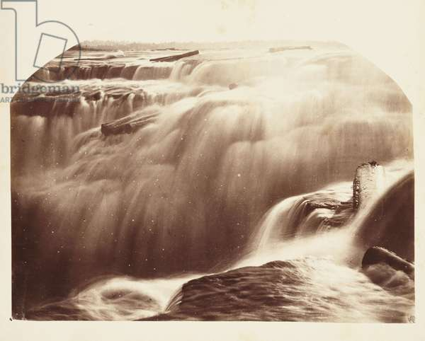 Chaudiere Falls in Winter', 1860