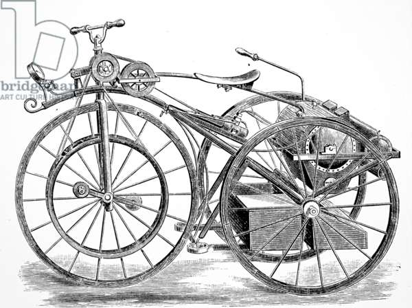 The Michaux-Perreaux steam tricycle