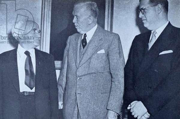 Israel's Prime Minister David Ben-Gurion