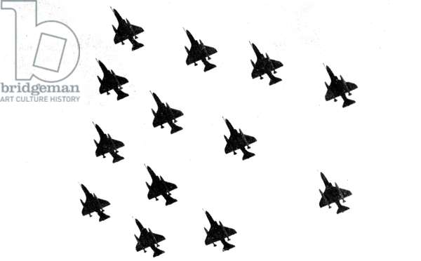 Falklands War Malvinas 1982 Argentina Air Force Skyhawk