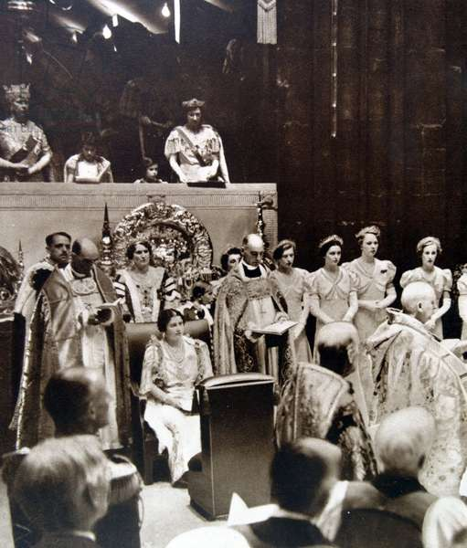 Coronation of British King George VI, 1937