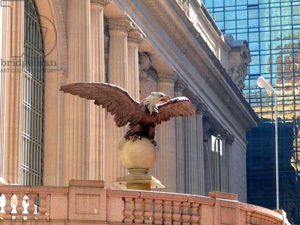 Eagle statue, 1754