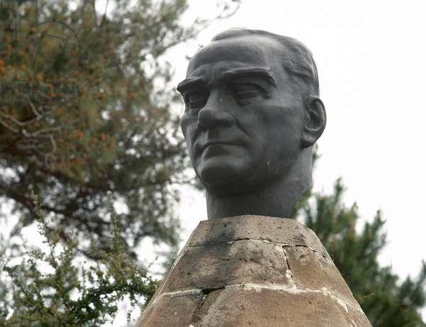 Mustafa Kemal Ataturk, Cappadocia, Turkey