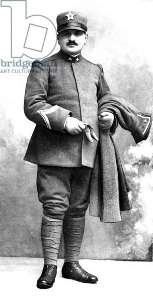 1915 Angelo Roncalli in military uniform during the First World War