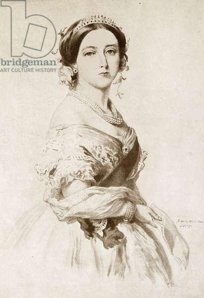 Queen Victoria of Great Britain, 1855