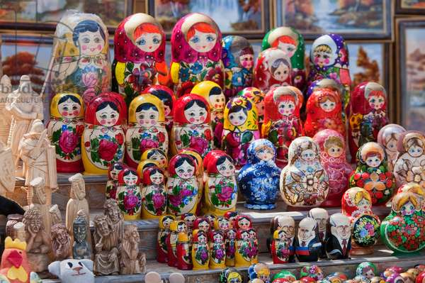 Russian Dolls For Sale in Trakai, Lithuania (photo)