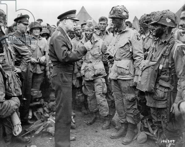General Dwight D. Eisenhower, 1944