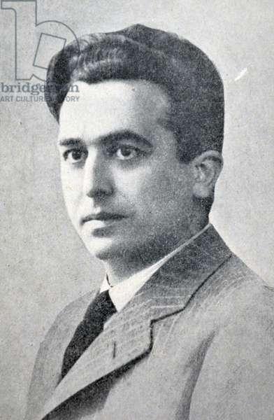 Spanish civil war: Onesimus Redondo Ortega ( Quintanilla Onesimus, Valladolid, 1905, February 16 - Labajos, Segovia, 1936, July 24 ) Spanish Falangist Fascist