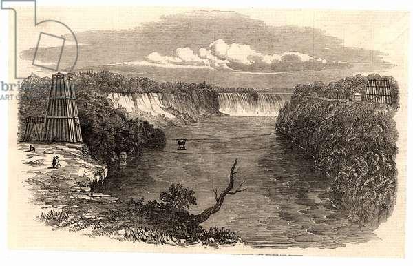 Suspension bridge at Niagara Falls