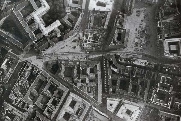 WWI 9 August 1918-Flying over Wien, the Freiung and the Am-Hof