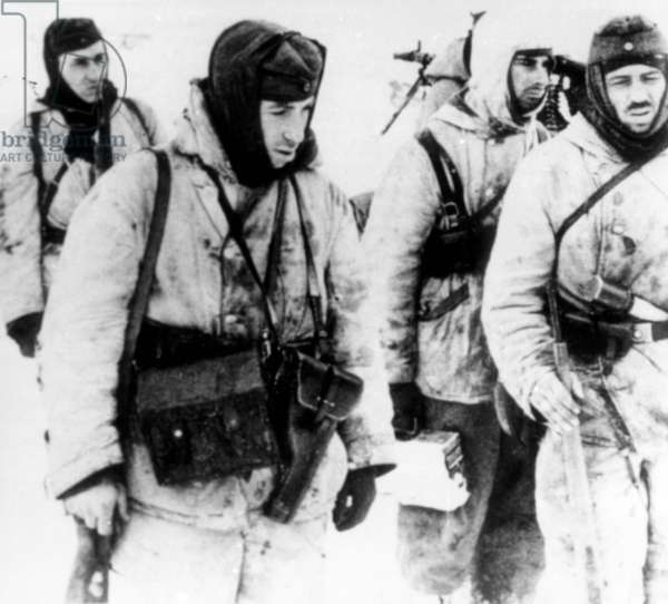 German Soldiers Near Stalingrad in December 1942.
