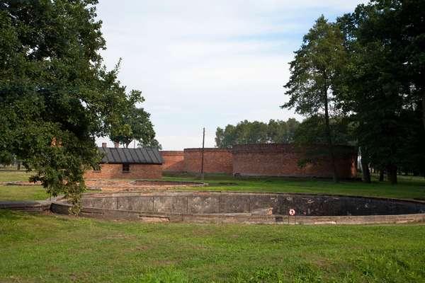 Sewage Treatment Plant, Auschwitz-Birkenau Concentration Camp, Oswiecim, Malopolska, Poland (photo)