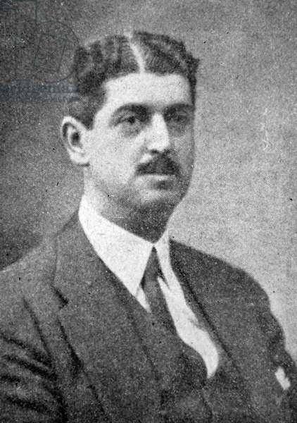 Conde de los Andes Francisco Moreno Zuleta, Spanish lawyer and politician who held the positions of Minister of Finance and National Economy