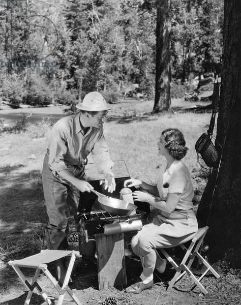 William Powell and Myrna Loy, United States, c.1934 (b/w photo)