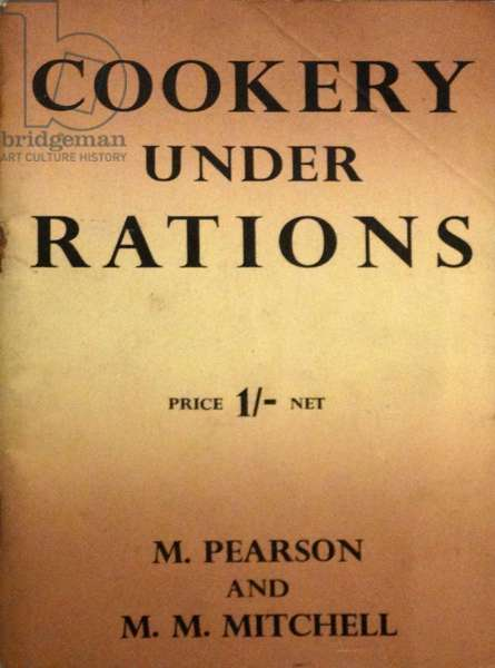 World War two British, cookery booklet, 1941