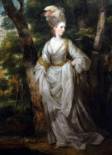 Portrait of Mrs. Elizabeth Karnak by Joshua Reynolds