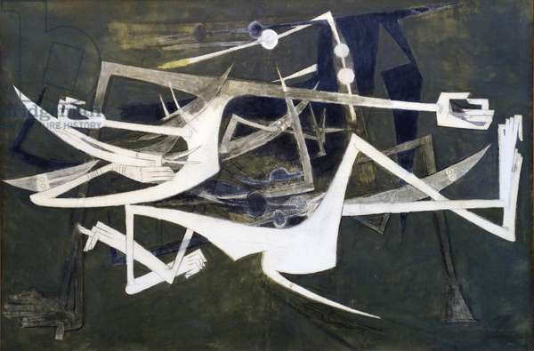 Undesirable, 1962 (oil on canvas)