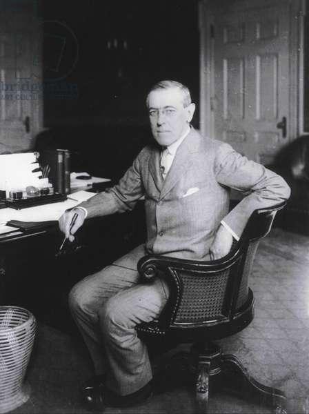 Portrait of President Woodrow Wilson, 1912