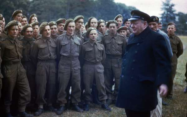 Winston Churchill the World war two British prime Minister
