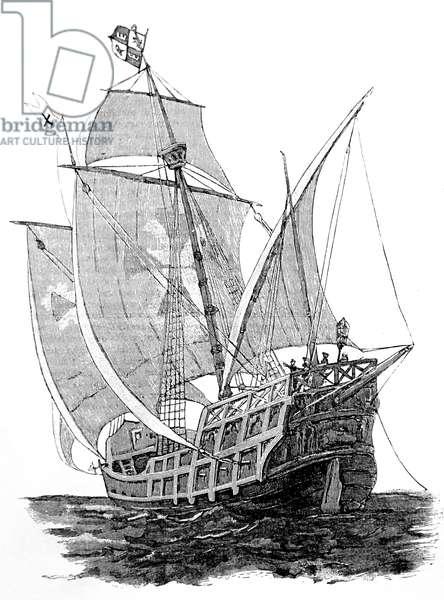 A Caravel, 1754