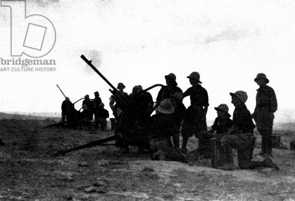 WWII World War II, the war in North Africa