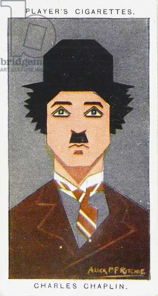 1926 Player's cigarette card depicting: Charlie Chaplin